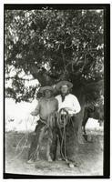 Portrait of Housto and Bayard Thayer, Rancho Santa Anita