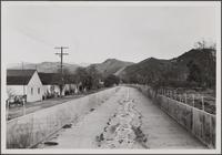 Storm drain, parallel to Ethel Street, Glendale