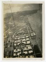 Western facing aerial view of the Panama-Pacific International Exposition, San Francisco