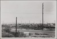 Auto Wrecking, looking west from Fremont Avenue and Lemay Street, Alhambra
