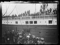 Second Philippine expedition departing to Manila, San Francisco Bay