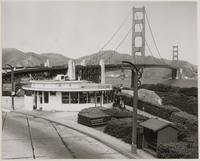 Roundhouse at Golden Gate Bridge, San Francisco