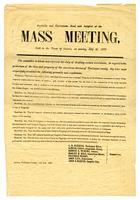 Preamble and resolutions read and adopted at the mass meeting held in the town of Sonora, on Sunday, July 21, 1850.