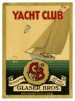 Yacht Club, Glaser Bros., San Francisco