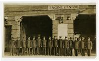 Fire fighters of Engine Co. No. 28, Los Angeles