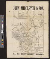 Map of California Pacific Railroad