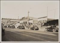 North Spring Street, east side, north of Bellevue Avenue