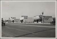 Florence Avenue, Crenshaw Knoll, looking west on Florence Avenue from Normandie Avenue