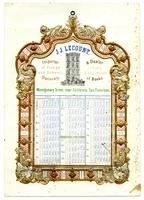 J.J. Lecount, importer of foreign and domestic stationery, and dealer in every description of books. Montgomery Street, near California, San Francisco.