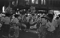 Chinese dragon at parade, Chinatown