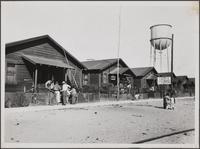 Japanese community, Cannery Street, Terminal Island
