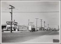 Alamitos Avenue from south of East 3rd Street, Long Beach