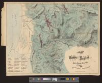 Map of the copper region of Del Norte County, California