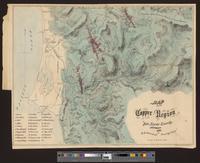 Map of the copper region of Del Norte County, California