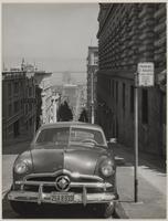 Sacramento Street between Powell and Mason Streets, Nob Hill, San Francisco