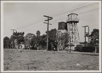Water tank on Normandie Avenue between 89th and 90th Streets