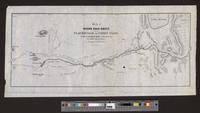 Map of wagon road route from Placerville to Carson valley