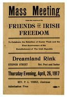 Mass Meeting Under the Auspices of the Friends of Irish Freedom.