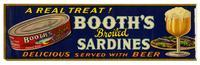 Booth's broiled sardines, F. E. Booth Company, Inc., San Francisco
