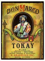 Don Marco Tokay wine, K. Arakelian, Inc., Madera Wineries & Distilleries, Madera
