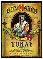 Don Marco Tokay wine, K. Arakelian, Inc., Madera Wineries & Distilleries, Madera