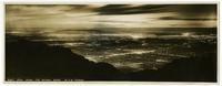Night view from Mt. Wilson, California