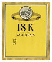 18 K brand, California