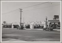 Used cars on Florence Avenue, just east of Vermont Avenue