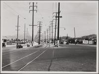Looking northeast on Eagle Rock Boulevard from York Boulevard