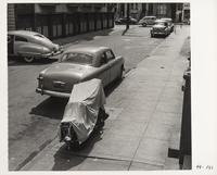 Parked cars on street, San Francisco