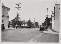 Corner of East 11th and Crocker Streets from southeast Japanese quarter, which includes some Chinese residents