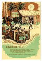 Menu, Trader Vic, Oakland