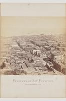 Panorama of San Francisco from California Street Hill (F)