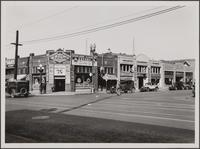 Northwest corner of Pico Boulevard and Hope Street from southeast