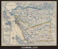 Map of Contra Costa & Alameda counties, Cal