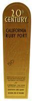 20th Century California ruby port, Elk Grove Winery, Elk Grove