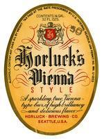 Horluck's Vienna style, Horluck Brewing Co., Seattle