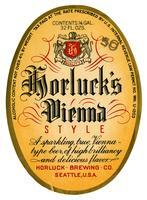 Horluck's Vienna style, Horluck Brewing Co., Seattle