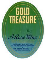 Gold Treasure, Elk Grove Winery, Elk Grove