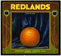 Redlands Brand oranges, Redlands Orange Growers Ass'n.