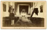 Interior of the old Mission