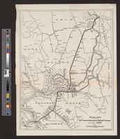 Route map of the San Francisco-Sacramento Railroad Company