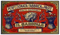 Il Garofalo Brand macaroni, San Diego Macaroni Mfg. Co., San Diego