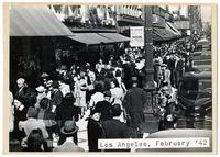 Los Angeles, February 1942