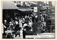 Los Angeles, February 1942