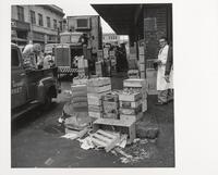Produce market, Washington Street, San Francisco