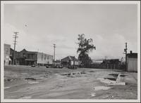 Looking east from Napier Street, Chinese quarters and industry