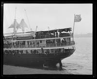 Troops departing for Philippines aboard S.S. City of Puebla, San Francisco Bay