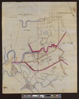 Map of Plummer Bros. Tract and vicinity
