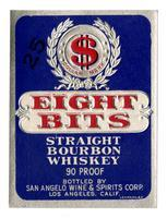 Eight Bits straight bourbon whiskey, San Angelo Wine & Spirits Corp., Los Angeles